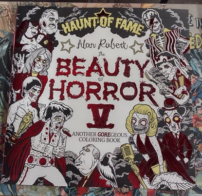 Picture of BEAUTY OF HORROR COLORING BOOK VOL 05 HAUNT OF FAME (C: 0-1-