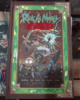 Picture of RICK AND MORTY VS DUNGEONS & DRAGONS HC (MR)