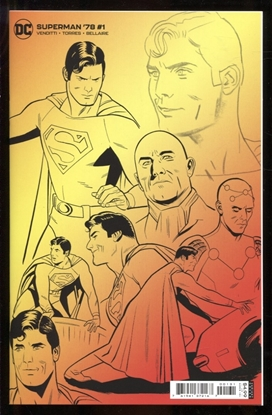 Picture of SUPERMAN 78 #1 (OF 6) INC 1:25 WILFREDO TORRES DESIGN CARD STOCK