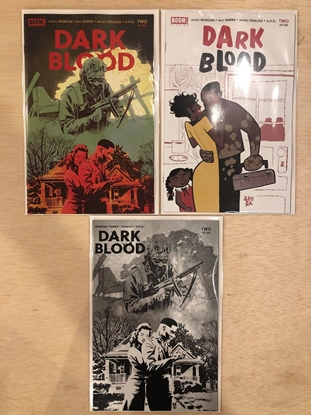 Picture of DARK BLOOD #2 / COVER A, B, C 1:10 VARIANT SET BOOM! NM