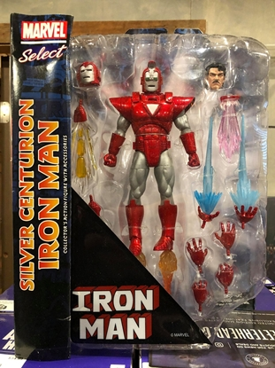 Picture of MARVEL SELECT MARVEL NOW SILVER CENTURION IRON MAN ACTION FIGURE(C: 1-