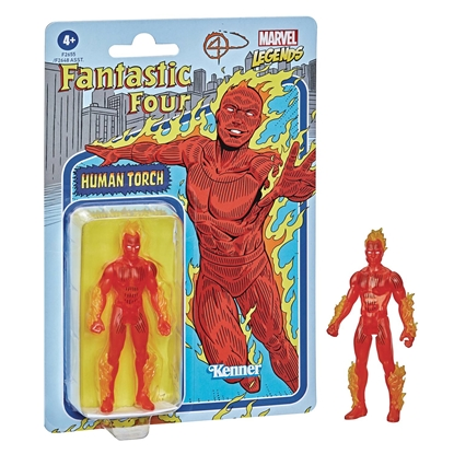 Picture of MARVEL RETRO LEGENDS 3-3/4IN HUMAN TORCH ACTION FIGURE