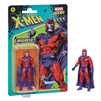 Picture of MARVEL RETRO LEGENDS 3-3/4IN MAGNETO ACTION FIGURE