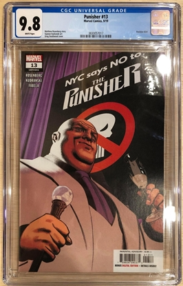 Picture of PUNISHER (2016) #13 /  CGC 9.8 NM/MT PUNISHER LOGO NYC