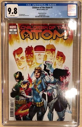 Picture of CHILDREN OF ATOM #1 / 1:25 CHANG VARIANT COVER CGC 9.8 NM/MT