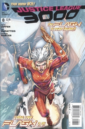 Picture of JUSTICE LEAGUE 3000 #8