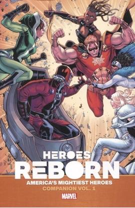 Picture of HEROES REBORN AMERICA MIGHTIEST HERO COMPANION TP VOL 01