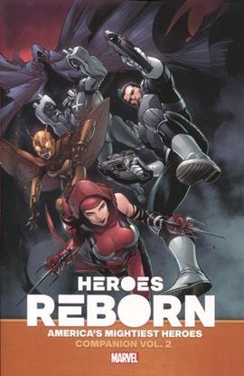 Picture of HEROES REBORN AMERICA MIGHTIEST HERO COMPANION TP VOL 02