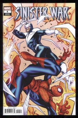 Picture of SINISTER WAR #4 / 1:25 GOMEZ VARIANT COVER NM
