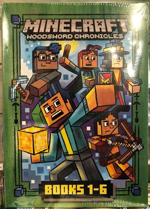 Picture of MINECRAFT WOODSWORD CHRONICLES BOOKS 1 2 3 4 5 6 SLIPCASE EDITION