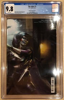 Picture of JOKER #1 (2021) / COVER C FRANCESCO MATTINA VARIANT CGC 9.8