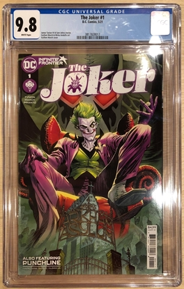 Picture of JOKER #1 (2021) / COVER A 1ST PRINT GUILLEM MARCH / CGC 9.8