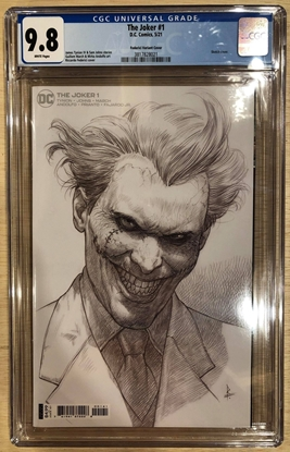 Picture of JOKER #1 (2021) / 1:25 FEDERICI VARIANT COVER / CGC 9.8