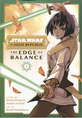 Picture of STAR WARS HIGH REPUBLIC EDGE OF BALANCE GN VOL 01 (RES) (C: