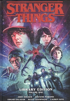 Picture of STRANGER THINGS LIBRARY ED HC VOL 01 (C: 0-1-2)