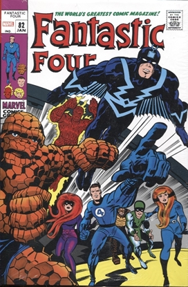 Picture of FANTASTIC FOUR OMNIBUS HC VOL 03 KIRBY DM VAR NEW PTG
