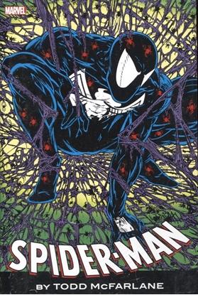 Picture of SPIDER-MAN BY MCFARLANE OMNIBUS HC BLCK COST DM VAR NEW PTG