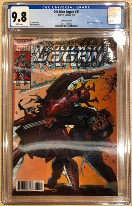 Picture of OLD MAN LOGAN #31 / LENTICULAR COVER VARIANT CGC 9.8