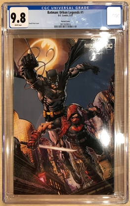 Picture of BATMAN URBAN LEGENDS #1 DAVID FINCH VARIANT COVER B CGC 9.8