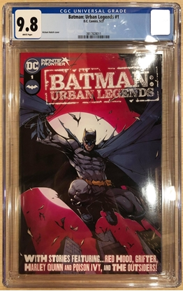Picture of BATMAN URBAN LEGENDS #1 / 1ST PRINT COVER A CGC 9.8