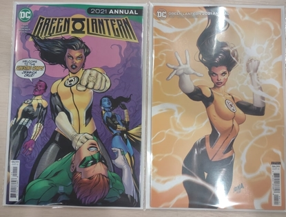 Picture of GREEN LANTERN 2021 ANNUAL #1 / COVER A AND B VARIANT SET NM