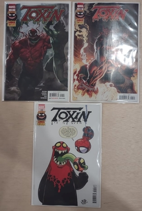 Picture of EXTREME CARNAGE TOXIN #1 / 1ST PRINT + TAN + YOUNG VARIANT COVER SET