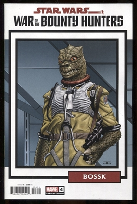 Picture of STAR WARS WAR BOUNTY HUNTERS #4 (OF 5) TRADING CARD VAR