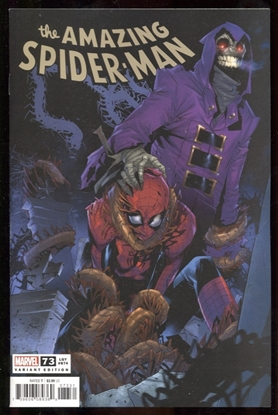 Picture of AMAZING SPIDER-MAN #73 VICENTINI VAR SINW