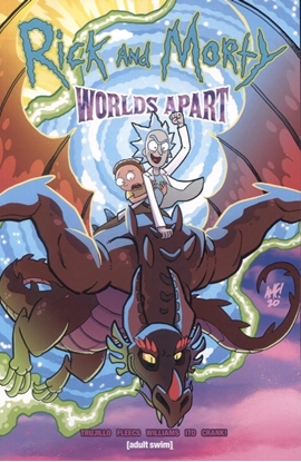 Picture of RICK & MORTY WORLDS APART TP (MR)