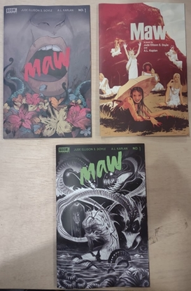 Picture of MAW #1 (OF 5) CVR ABC VARIANT SET