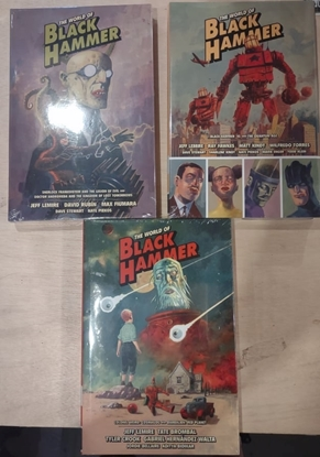 Picture of WORLD OF BLACK HAMMER LIBRARY ED HC VOLS 1 2 & 3 SET