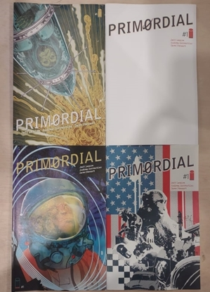 Picture of PRIMORDIAL #1 (OF 6) COVERS A B C & D SET