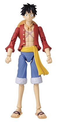 Picture of ANIME HEROES ONE PIECE MONKEY D LUFFY 6.5 IN ACTION FIGURE