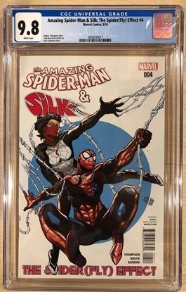 Picture of AMAZING SPIDER-MAN & SILK THE SPIDER(FLY) EFFECT #4 CGC 9.8