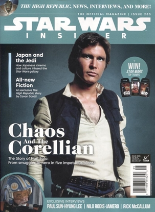 Picture of STAR WARS INSIDER #205 NEWSSTAND ED