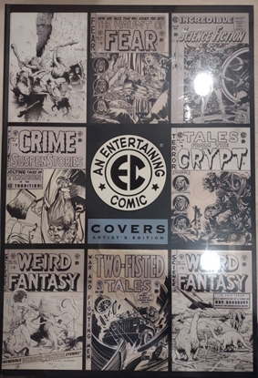 Picture of EC COVERS ARTISTS EDITION IDW PUBLISHING