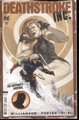 Picture of Deathstroke Inc. #1 (2021) VF/NM 1:25 Ivano Variant DC Comics