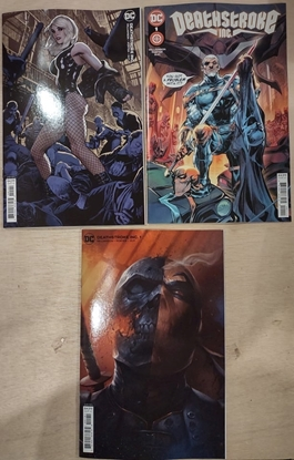 Picture of DEATHSTROKE INC. #1 COVER A B & C SET