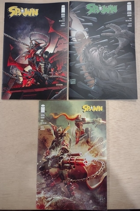 Picture of SPAWN #322 COVERS A B & C VARIANT SET