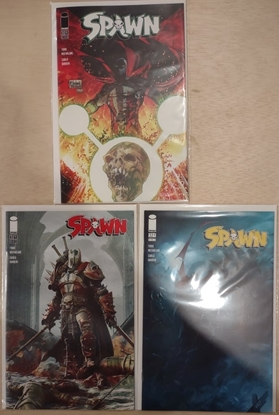 Picture of SPAWN #321 COVER A B & C VARIANT SET