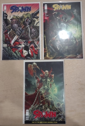 Picture of SPAWN #320 COVER A B & C VARIANT SET