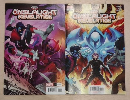 Picture of X-MEN THE ONSLAUGHT REVELATION #1 COVER A & B SET