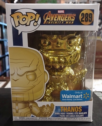 Picture of FUNKO POP MARVEL AVENGERS INFINITY WAR THANOS (YELLOW) #289