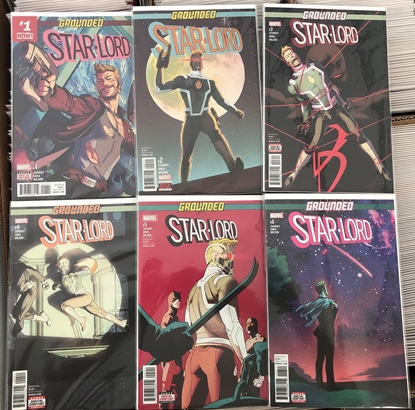 Picture of STAR-LORD (2017) #1 2 3 4 5 6 / ZDARSKY 1ST PRINT SET GROUNDED NM