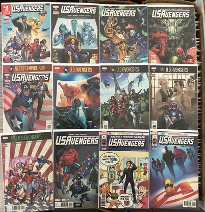Picture of NOW US AVENGERS (2016) #1-12 / 1ST PRINT SET BY AL EWING NM