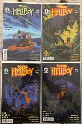 Picture of YOUNG HELLBOY THE HIDDEN LAND #1 2 3 4 / 1ST PRINT COVER A SET NM