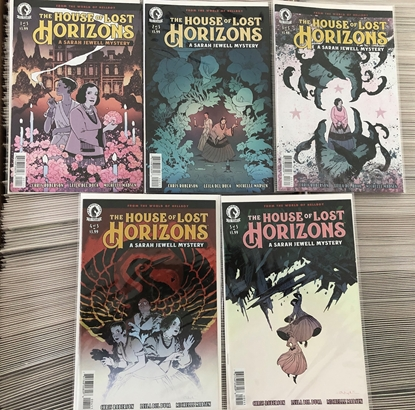 Picture of HOUSE OF LOST HORIZONS #1 2 3 4 5 BY MIKE MIGNOLA / HELLBOY NM SET