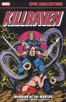 Picture of KILLRAVEN EPIC COLLECTION: WARRIOR OF THE WORLDS TPB