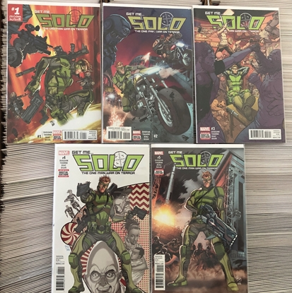 Picture of SOLO (2016) #1 2 3 4 5 / COMPLETE SET BY DUGGAN NM