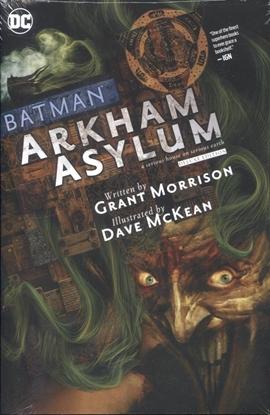 Picture of BATMAN ARKHAM ASYLUM THE DELUXE EDITION HC
